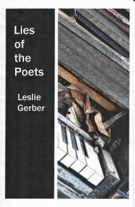 """Lies of the Poets"" by Leslie Gerber - Front cover"